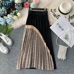 Vintage Patchwork High Waist boho skirts