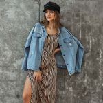 Vintage Hole Long Sleeves Button Denim Jackets