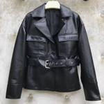 Fashion Genuine Leather Jacket