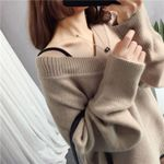 Fashion Knitted Pullover Loose Sweaters