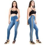 Fashion High Waist Slim Elastic Skinny Pencil Jeans