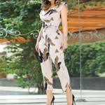 Elegant Sleeveless V-Neck Casual Height Waist Jumpsuit
