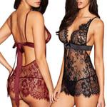 Sexy-Lingerie V-Neck Sleepwear