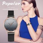 Sleek Minimalist Calendar Magnetic Buckle Watches