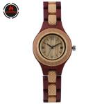 Vintage Creative Folding Clasp Wood Watch