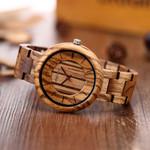 Elegant luxury Wooden watch