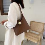 Stone Pattern PU Leather Crossbody Handbags