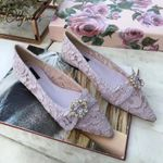 New Fashion Style Lace Flats Shoes