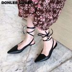 Fashion Ankle Strap Pointed Toe Sandals