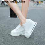 Vulcanized Height Increasing Platform Shoes