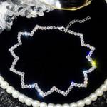 Fashion Full Rhinestone Choker Necklaces