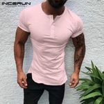 Short Sleeve Round Neck Casual T-shirts