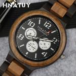 Luminous Hands Business Quartz Wood Watches