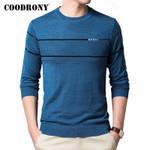 Brand Casual O-Neck Pullover Fashion Sweaters