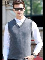Slim Fit Cashmere Wool Pull Sweaters