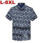 Bohe Vintage Causal Floral Short Sleeve Shirt