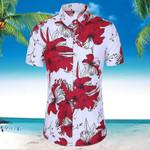 Hawaiian Cotton Casual Floral Short Sleeve Shirts