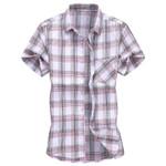 Plaid Fashion Casual Short Sleeve Shirts