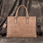 Real-leather Business Casual Handbag
