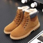 Outdoor Sports Warm Fur Waterproof Boots