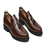 Cow Leather Slip On Loafers Oxfords Shoes