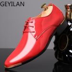 Luxury Patent Leather Oxford Shoes