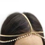 Fashion Metal Gold Silver Multilayer Boho Chain Headband