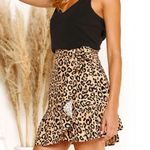 Bodycon Leopard Print High Waist Boho Bohemian Skirts