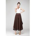 Vintage Ethnic Wide High Waist Boho Bohemian Pants