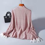 Real Silk Fashion Clothing Elegant Blouses