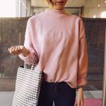 Multicolor Velvet Thick Long Sleeve Round Neck Sweatshirt