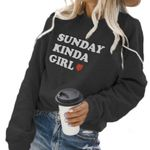 Fashion Loose Casual Pullover Printing O Neck Sweatshirts