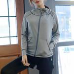 Workout Zipper With Pockets Running Jackets
