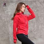 Sport Quick-dry Long-sleeved Running Zipper Jacket