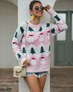 Knitted Turtleneck Pullovers Casual Soft Sweaters