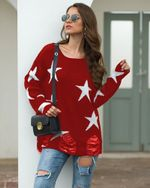 Pullovers Solid Slim Casual Sweater