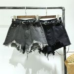 Fashion Wide Leg Casual High Waist Denim Shorts