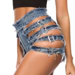 High Waist Sexy Denim Shorts