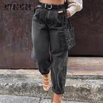 Casual loose streetwear Vintage Pleated Pants