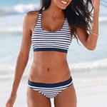 Padded Push Up Off Shoulder Bikini