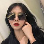 Fashion Retro Square Big Frame Sunglasses