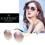 Brand Design Vintage Rimless Sun Glasses