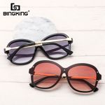 Designer Brand Luxury Tinted Lens Black Frame Sunglasses