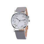 Luxury Round Alloy Casual Watches