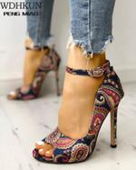 Pumps Fashion Sexy Super Peep Toe Heels