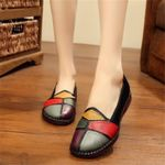 Fashion Natural Genuine Leather Flat shoes