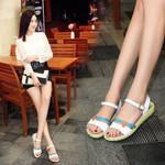 Low Wedges Outdoor Flip Flops Gladiator Sandals