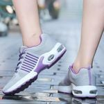 Casual Fashion Quality Suede Casual Flying Weave Shoes