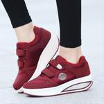 Vulcanized fashion Slip On Flat Shoes