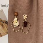 Asymmetrical Acrylic Earrings
